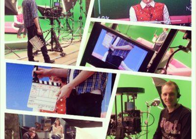 Съемки программы в хромакей студии