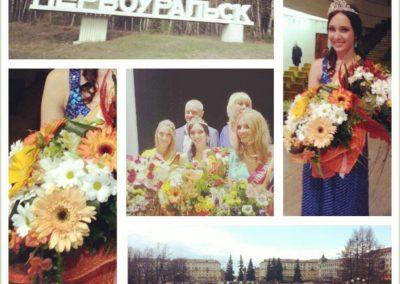 Съемки конкурса красоты — Краса России первоуральска 2013